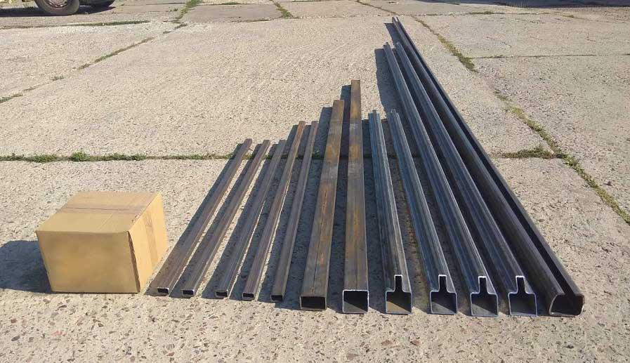комплект для изготовления откатных ворот ксс
